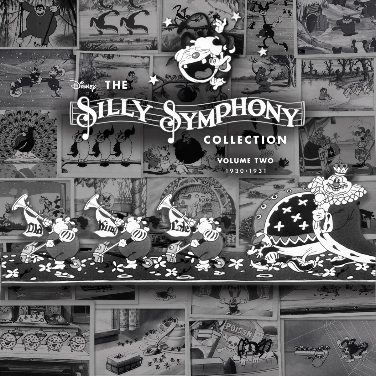 Disney The Silly Symphony LP Volume 2 Cover Art
